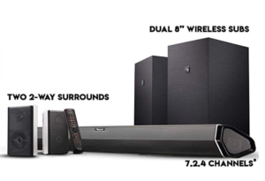 Nakamichi wireless surround sound