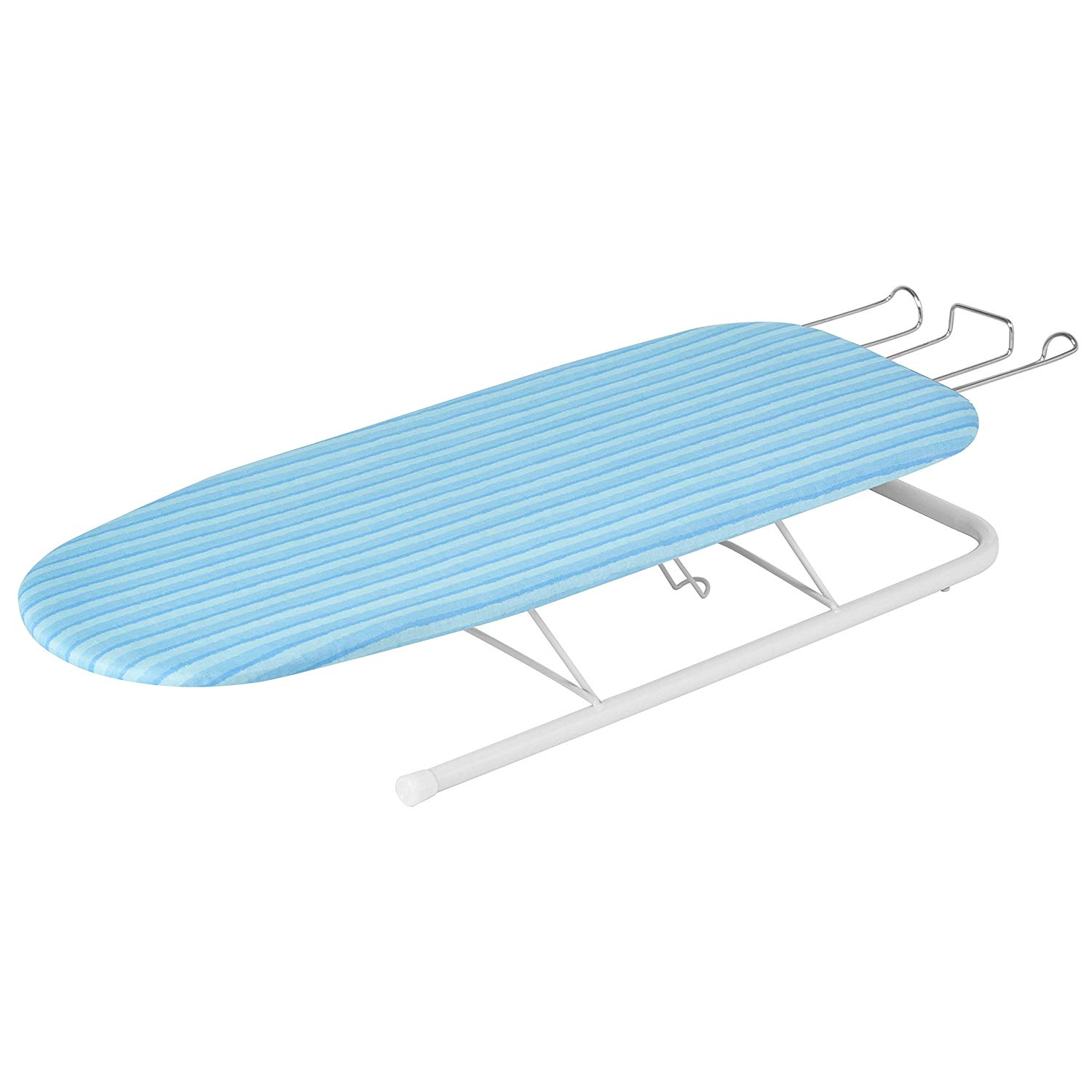 Ironing Board With Retractable Iron Rest