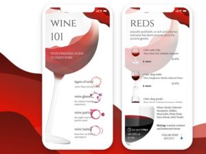 Wine application for tips