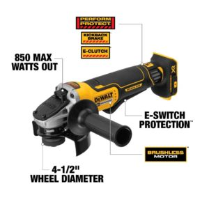 DEWALT DCG413B 20V MAX Brushless Cut Off Tool/Grinder