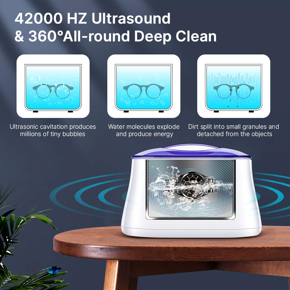 Ultrasonic deep cleaning